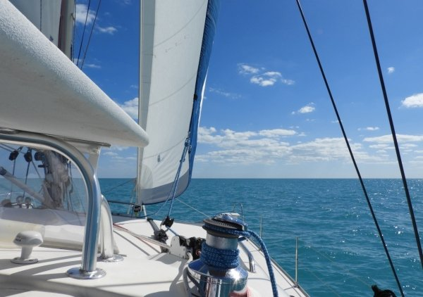 Sailing the Great Bahama Bank